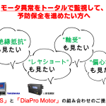 モータ異常監視に!三菱電機製「DiaPro Motor」